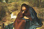 Svatý Jan Křtitel Autor: Geertgen tot Sint Jans Zdroj: Wikimedia Commons Licence: Public domain