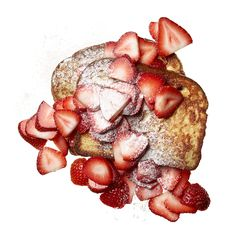 French Toast with Strawberries http://www.rodalewellness.com/food/flat-belly-breakfast-recipes/slide/2
