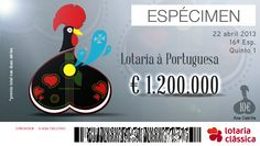 Here is my proposal to work for the competition to Portuguese Lottery! If they like to do like and share, the more likes best;)