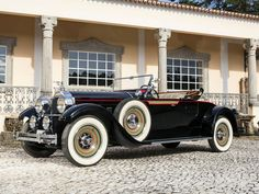 1928 Packard Custom Eight Roadster - (Packard Motor Car Company Detroit, Michigan 1959 Cadillac, Cadillac Eldorado, Us Cars, Sport Cars, Rolls Royce, Classic Trucks, Classic Cars, Vintage Cars, Antique Cars
