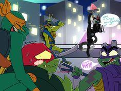 Casey:Oh my god. Ninja Turtles 2014, Ninja Turtles Art, Teenage Mutant Ninja Turtles, Tmnt Swag, Tmnt Comics, Tmnt 2012, Fan Art, Kids Shows, Cartoon Shows