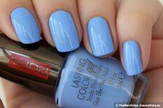 Небесный Pupa Lasting Color Gel Glass Effect Nail Polish 055 — Отзывы о косметике — Косметиста