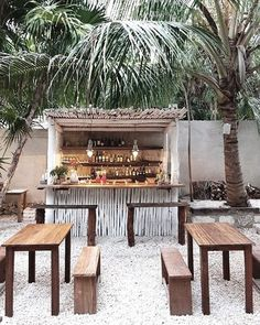 Find us at the beach bar ☀️ Tulum, Mexico.