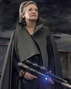 [NEW IMAGE] Star Wars The Last Jedi General Leia Organa #StarWars #TheLastJedi #leiaorgana