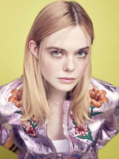 "Elle Fanning for ""Variety""."