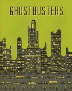 Ghostbusters by Andrew Kolb - Silver Screen Society