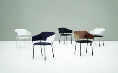 Amina Piiroinen Amina, een stoel van PLAN@OFFICE ontworpen door Piiroinen.