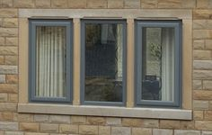 For Replacement Windows at affordable prices - make Clearview your first choice. Browse our range of Double Glazing & Triple Glazing Windows for your home. Window Frames, Window Sill, Anthracite Grey Windows, Coloured Upvc Windows, Window Glazing, Exterior Remodel, House Extensions, House Front, Windows And Doors