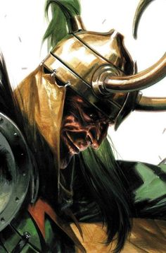 Loki by Gabriele Dell'Otto
