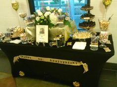 Our Candy Bar at our 50th Anniversary.