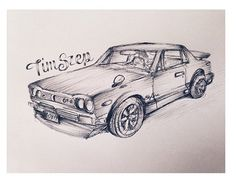Car drawing for a friend #car #drawing