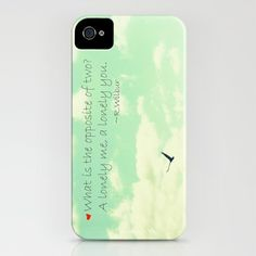 Lonely iPhone Case by RDelean - $35.00
