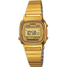 Montre Casio gold