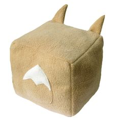 Pokemon Eevee Cubee Cube Plushie Stuffed by fleacircusdesigns