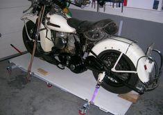 Elevador de motos casero - Fabricación - Harley Clasica Motorcycle Lift Table, Bike Lift, Gaston, Cars And Motorcycles, Harley Davidson, Workshop, Drawings, Vehicles, Ideas