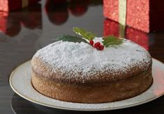 Greek Sweets, Greek Desserts, Greek Recipes, Fun Desserts, Dessert Recipes, Vasilopita Cake, Vasilopita Recipe, Christmas Sweets, Christmas Cooking