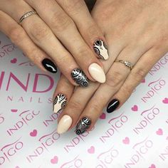 Love Nails, How To Do Nails, Indigo Nails, Star Nails, Nailart, Daily Nail, Nails Inc, Nail Shop, Nails Inspiration