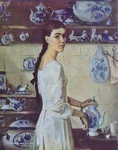 Вишняк Мария Владимировна (Россия, 1960) «Керамистка» 1984