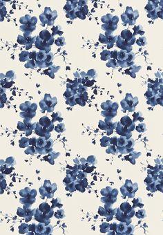 Sanderson Mandarin Flowers Fabric main image