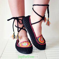 Mandala Boho Hippie Slippers Outdoor Flats Colorful Slip Ons