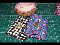 Carteira de tecido simples - YouTube