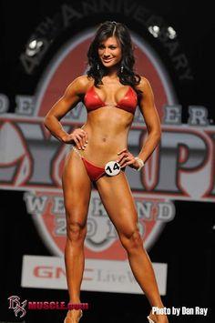 Female fitness model and IFBB Binkini Pro Monique Minton