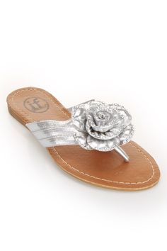 e4daed13ab1e4 Carni - Item CAR52682SV (silver)  shoes  sandals  flipflops Beyond The Rack