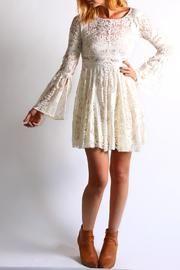 Boho Lace Dress - Front cropped