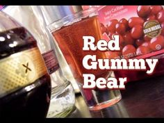 The Red Gummy Bear is a sweet raspberry shot made with vodka, Chambord, and cranberry juice. It has universal appeal, thanks to it's deep red hue and rich flavor.