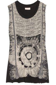 Sass & Bide - Patriotic Embellished Cotton Jersey Top