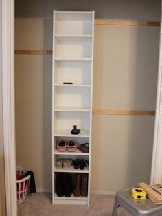 How to build your own closet built-ins using a Billy bookcase (IKEA hack) – House of Hepworths