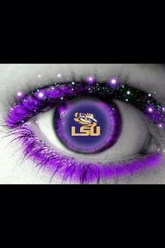Eye of the Tiger.  LSU Tigers