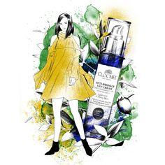 "Polubienia: 98, komentarze: 8 – Sylwia Dębicka (@sylwiadbck.illustration) na Instagramie: ""New #from_nature_to_fashion campaign with @joannahawrot & @clochee_simplyorganic  . . . #clochee…"""