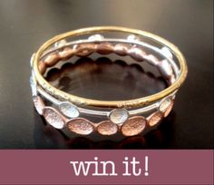 Giveaway: Click to Enter for a Chance to Win a Trio of Chic Bangles