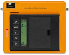 Leica SOFORT, orange, back view. Leica SOFORT, the Instant Picture Camera for Instant Film Photography: Optical Viewfinder; Shooting Modes Include 'Party', 'Self-Portrait', 'Sport' or 'Macro'; Leica Instant Film Packs Available in both Color & Monochrom http://www.photoxels.com/leica-sofort-camera/