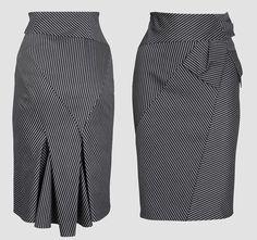 Красивая юбка в полоску от Karen Millen (Шитье и крой) | Журнал Вдохновение Рукодельницы