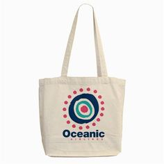 Lost TV Oceanic Airlines Logo [Tote Bag]