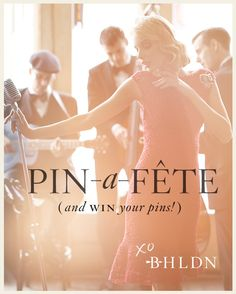 Enter here for a chance to win a 1000 BHLDN gift card: http://www.bhldn.com/explore-pin-a-fete