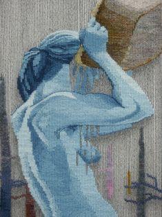Sarah Swett, Indigo Bath (detail)