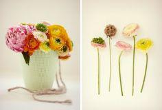 arreglo de flores para colgar en sillas, ideal para un civil
