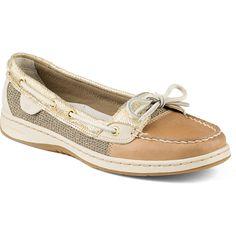 Women's Angelfish Metallic Python Slip-On Boat Shoe - Boat Shoes   Sperry