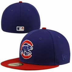 3bd38938eb3 New Era Chicago Cubs 2-Tone 59FIFTY Fitted Hat - Royal Blue Red