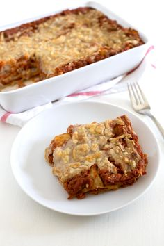 Lasaña Vegana. - Preparar una deliciosa lasaña vegana en casa es increíblemente fácil y no tiene nada que envidiarle a la tradicional. Además, es más sana, ligera y nutritiva.