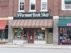 The Vermont Book Shop, Middlebury, Vermont