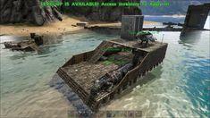 Raft Building, Building Ideas, Ark Survival Evolved Bases, Rafting, Bristol, Video Games, Boat, Minecraft, Geek