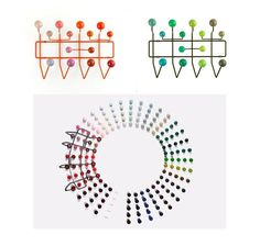 Miluccia ◆: Hang it all & Magnetic Dots vu par Hella Jongerius
