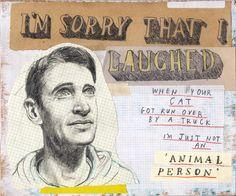 I can't apologize enough. by David Fullarton, via Behance