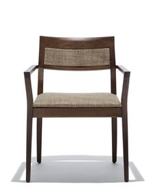 Krusin Side Chair with Upholstered Back Inset by Knoll on ProjectDecor.com