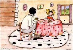 Eponyme et la tea party