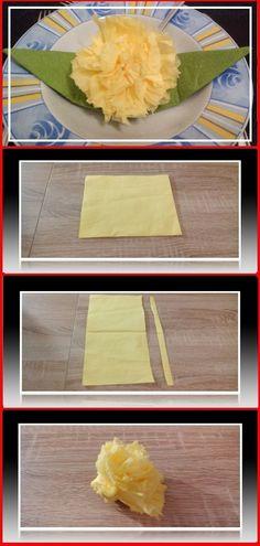 Die 305 besten bilder von servietten falten tischdeko usw - Servietten falten modern ...